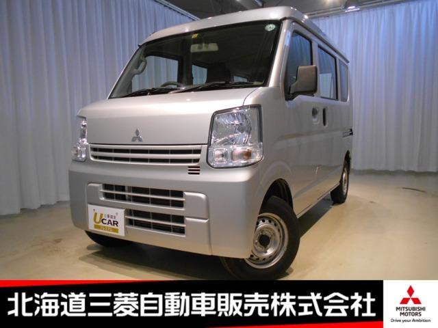 三菱 ミニキャブバン M レンタカーアップ 禁煙車 切替式4WD ETC ABS