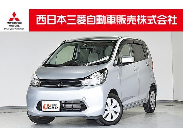 三菱 eKワゴン M 2WD ・CDチューナー・ETC・アイドリングストップ・リモコンキー