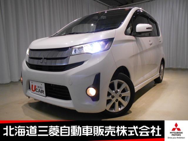 三菱 eKカスタム G シートヒーター ブラック内装 アイドリングストップ タッチパネル式オートエアコン