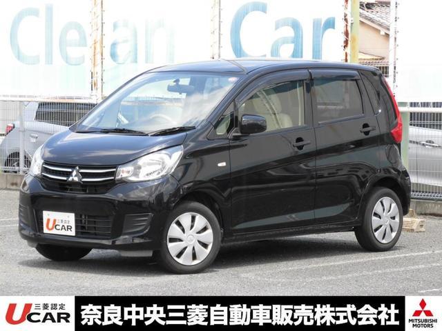 三菱 M SDナビ ワンセグTV CD アイドリングストップ シートヒーター(運転席) ベンチシート キーレス ETC