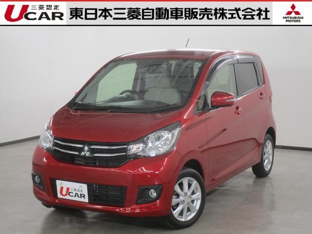 三菱 eKワゴン Tセーフティパッケージ 認定U-CAR ナビゲーション&TV