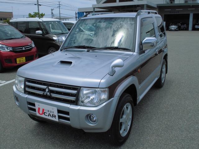 三菱 パジェロミニ エクシード インタークーラーターボ車 ABS