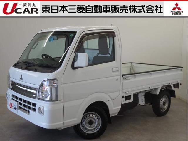 三菱 ミニキャブトラック 660 G 4WD 5速マニュアルフロアシフト ABS エアコン・パワーウインド・ナビ・TV