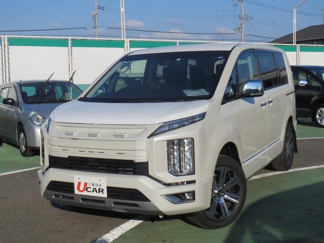 三菱 デリカD:5 P 電動サイドステップ 8人乗 レンタ登録車