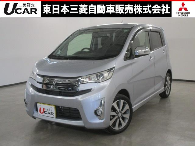 三菱 eKカスタム T ナビゲーション&TV バックカメラ 認定U-CAR