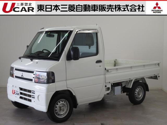 三菱 ミニキャブトラック 660 Vタイプ 4WD 3速ATフロアシフト パワステ エアコン・AM/FMラジオ・ETC・ステンレス製サイドバイザー・