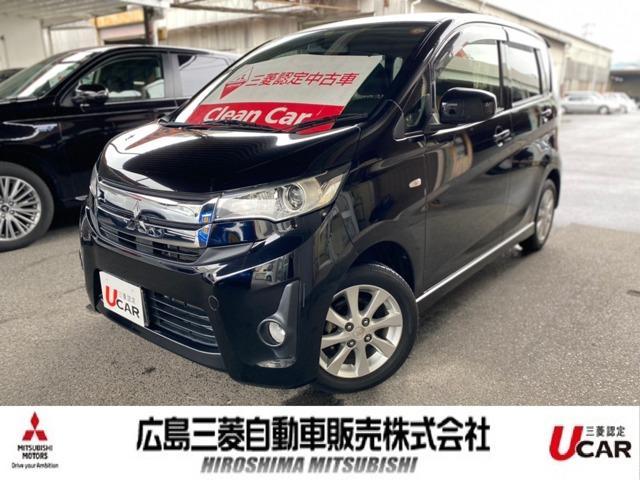 三菱 eKカスタム M フル装備 CDチューナー Astop