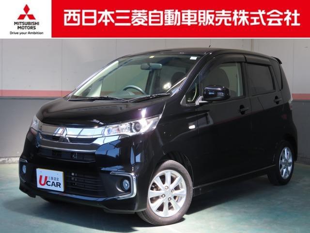 三菱 eKカスタム M 運転席シートヒーター付オートエアコン付き