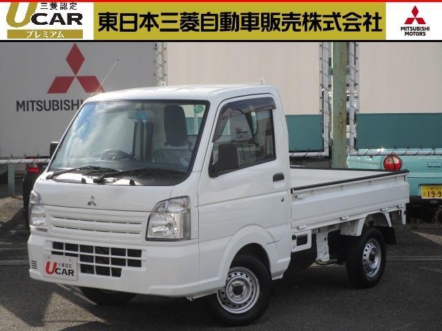 三菱 ミニキャブトラック M 3速オートマ FM/AMラジオ 禁煙車 2WD ワンオーナー フロアマット スペアタイヤ