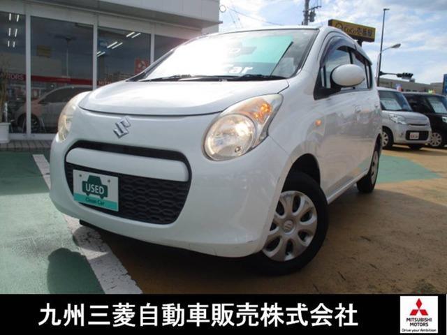 スズキ アルト E 三菱認定中古車保証1年付 CD エアコン パワステ ダブルエアバック