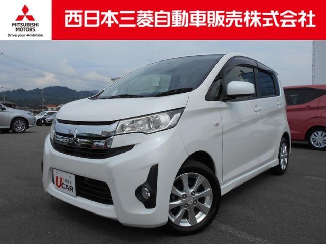 三菱 eKカスタム M TV・CDチューナー・ナビゲーション搭載車