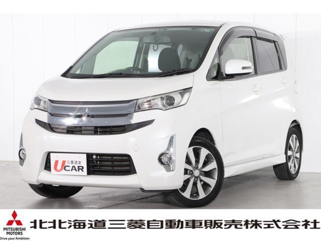 三菱 T メモリーナビ バックカメラ ETC HIDヘッドライト シートヒーター 4WD