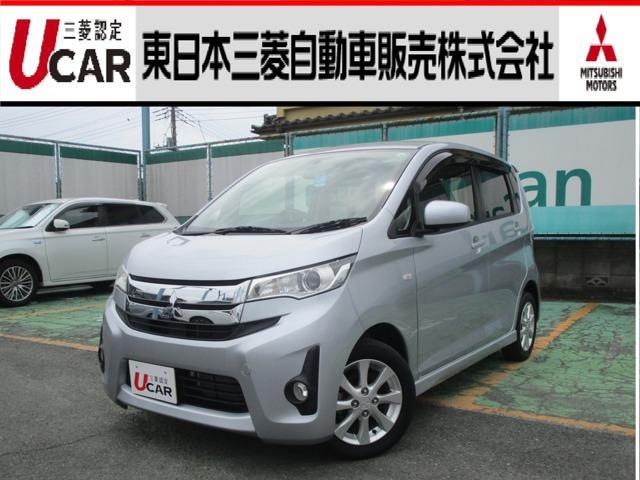 三菱 eKカスタム M 純正ナビ 禁煙車 アイドリングストップ