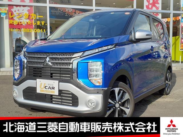 三菱 eKクロス T ナビ TV バックカメラ ETC ターボ ブラック内装 純正アルミホイール 4WD 運転席シートヒーター