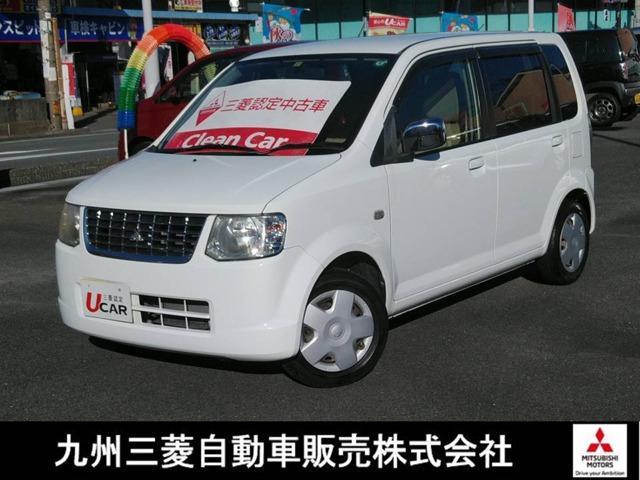 三菱 eKワゴン MX 認定中古車保証 CD再生 ベンチシート エアバック Wエアバッグ マニュアルエアコン パワステ パワーウインドウ キーレス付