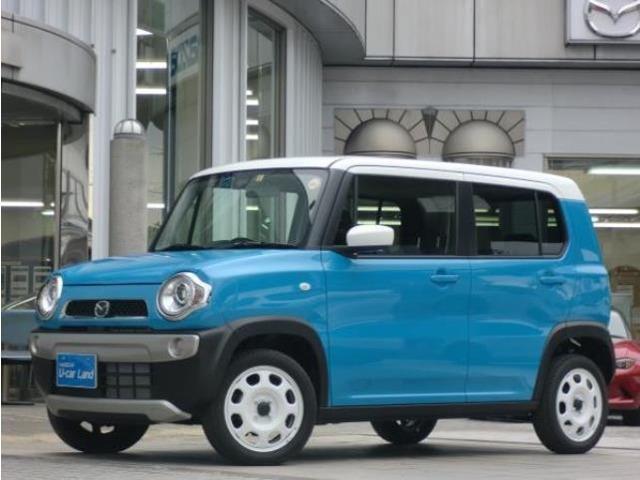 マツダ XG 2WD 当社試乗車UP サマーブルーM&ホワイトルーフ