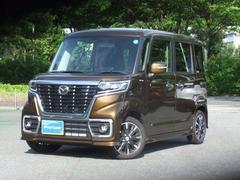 フレアワゴンカスタムスタイルハイブリッドXS 当社試乗車アップ ブレーキサポート