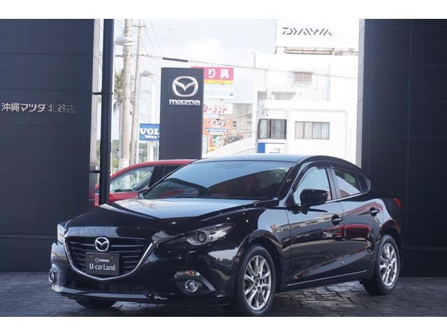 沖縄の中古車 マツダ アクセラ 車両価格 149.8万円 リ済別 平成26年 3.7万km ジェットブラックマイカ(ブラッ