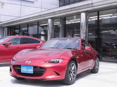 ロードスターRFVS 当社試乗車アップ 6速AT車 レザーシート SDナビ