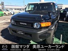 FJクルーザーブラックカラーPKG 4WD