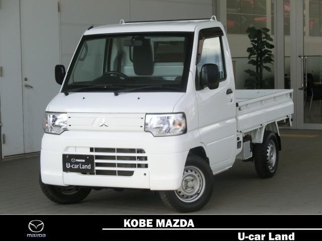 三菱 660 楽床ダンプ 4WD エアコン・パワステ