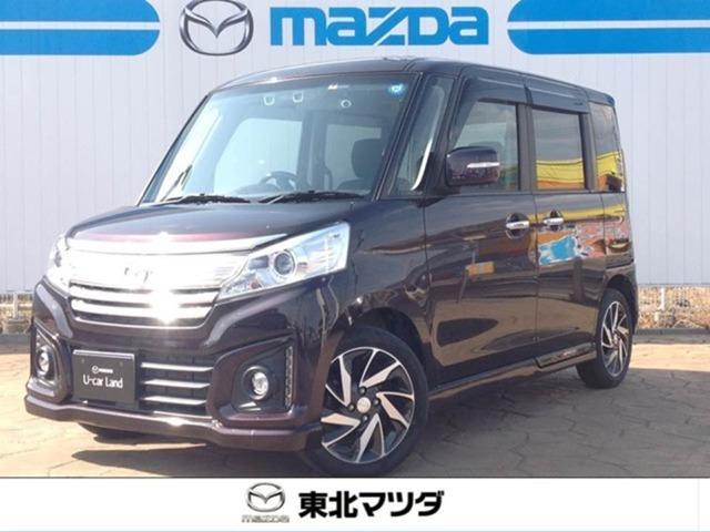マツダ カスタムXS 4WD ドラレコ/ETC/メモリーナビ