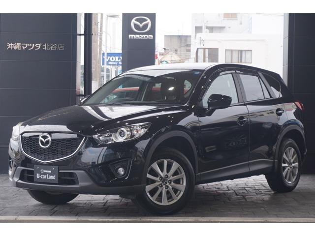 沖縄の中古車 マツダ CX-5 車両価格 159.8万円 リ済別 平成26年 4.3万km ジェットブラックマイカ