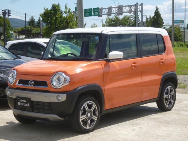 「マツダ」「フレアクロスオーバー」「コンパクトカー」「福島県」の中古車