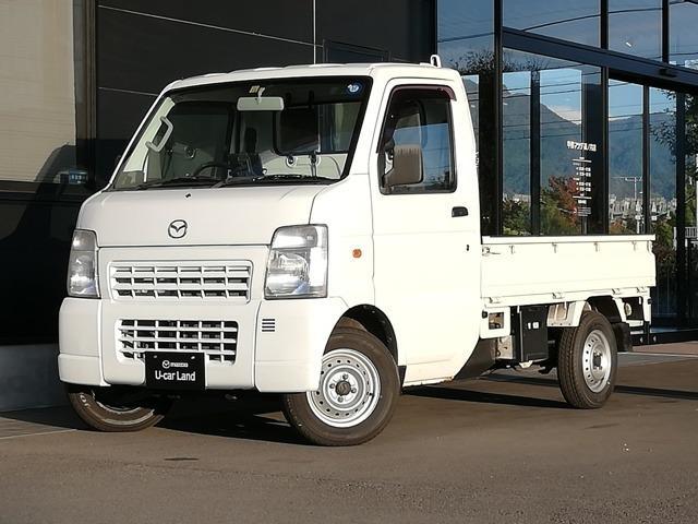 マツダ KC 農繁 3方開 4WD 5MTデフロック作業灯1オーナー