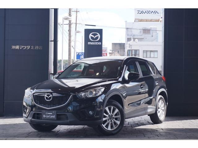 沖縄の中古車 マツダ CX-5 車両価格 125.8万円 リ済別 2013(平成25)年 6.8万km ジェットブラックマイカ