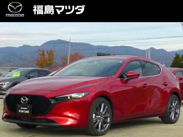 「マツダ」「MAZDA3ファストバック」「コンパクトカー」「福島県」の中古車