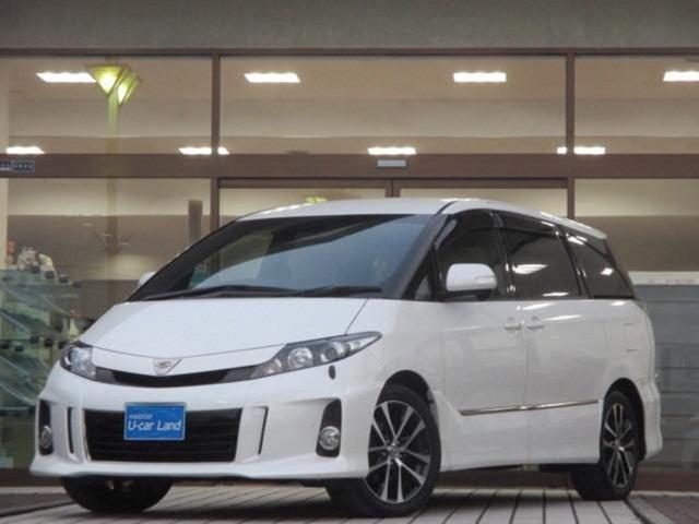 トヨタ 2.4 アエラス VERYエディション 禁煙車 リヤモニター