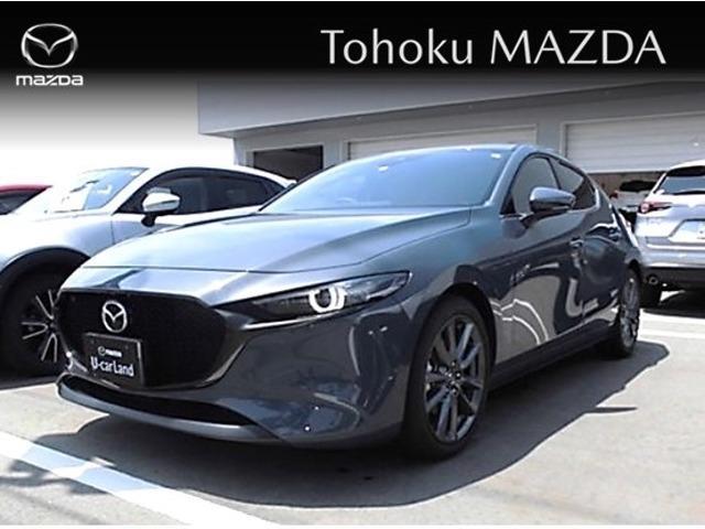 「マツダ」「MAZDA3ファストバック」「コンパクトカー」「秋田県」の中古車