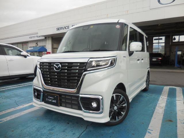 マツダ 660 カスタムスタイル ハイブリッド XS 試乗車UP 全