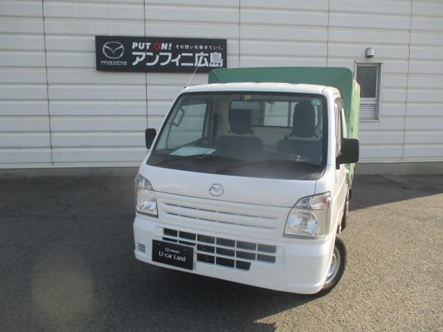 マツダ 660 KC エアコン・パワステ 荷台幌