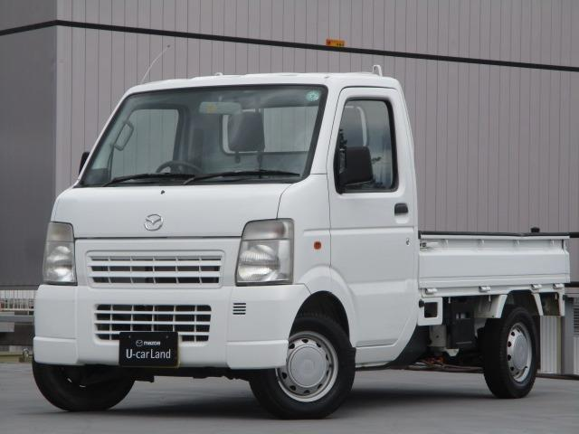 マツダ スクラムトラック 660 KC パワステ 3方開 4WD ワンオーナー 禁煙車 パワステ 5MT