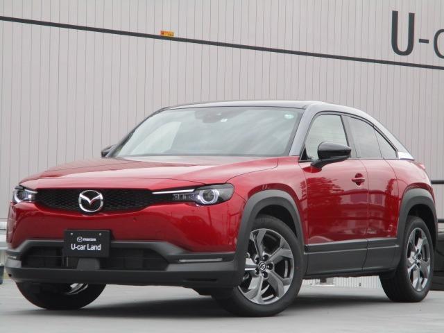 マツダ 2.0 4WD インダストリアル(3トーンカラー) デモカーUP 禁煙車 8.8モニター カープレイ対応 BOSEサウンド ナビ ETC G-ベクタリングコントロール コネクティッドサービス対象車 先進安全技術搭載