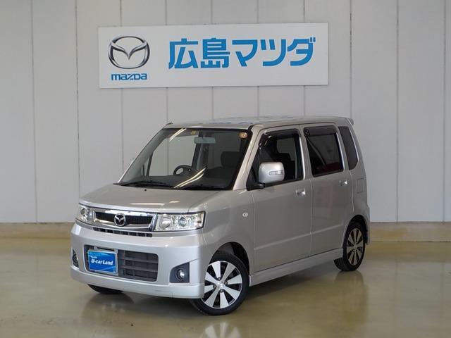 マツダ カスタムスタイルT 4WD ディスチャージ ターボエンジン