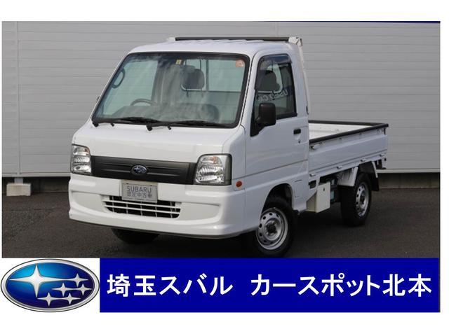 スバル TC プロフェッショナル エアコン パワステ 5速 4WD