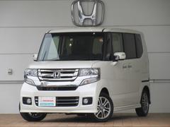 N BOXカスタムG・Lパッケージ 試乗車 インターMナビ フルセグ