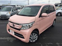 沖縄の中古車 ホンダ N−WGN 車両価格 123.8万円 リ済別 平成28年 1.2万K ピンクパール