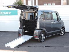 N BOX+カスタムG 車椅子仕様車 ナビ バックカメラ 追突軽減ブレーキ