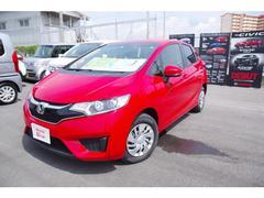 沖縄の中古車 ホンダ フィット 車両価格 139.8万円 リ済別 平成29年 0.8万K レッド