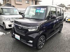 N BOXカスタムG・EXホンダセンシング デモカーアップ スーパースライドシート