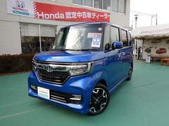 N BOXカスタムG・Lターボホンダセンシング 8インチデカナビ 当社デモカー