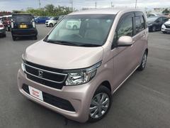 沖縄の中古車 ホンダ N−WGN 車両価格 103.8万円 リ済別 平成26年 2.7万K ピンクメタリック