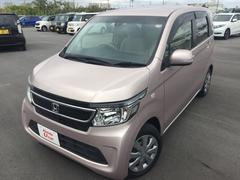 沖縄の中古車 ホンダ N−WGN 車両価格 103.8万円 リ済別 平成26年 2.8万K ピンクメタリック
