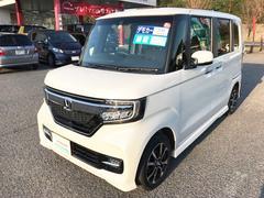 N BOXカスタムG・EXホンダセンシング デモカーアップ 元試乗車