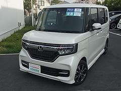 N BOXカスタムG・EXホンダセンシング ・元デモカー・ETC