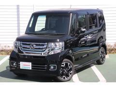 N BOXカスタムG・Lパッケージ 社外ナビ 4WD シートヒーター
